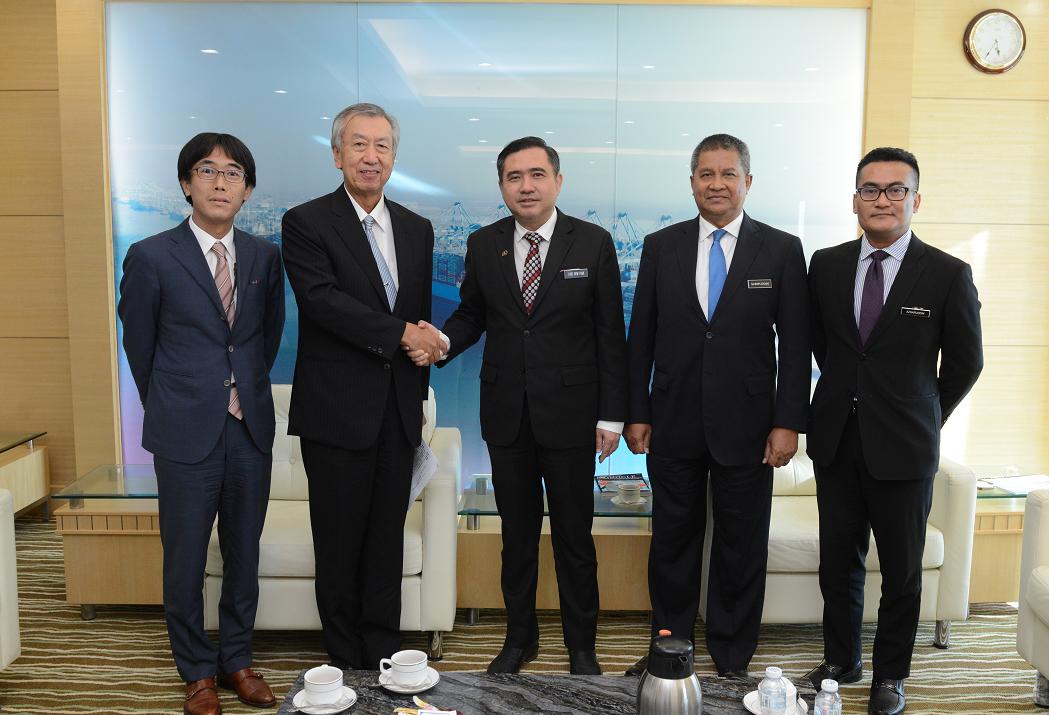 宮川大使のローク運輸大臣との面会 | 在マレーシア日本国大使館